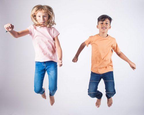 T-shirts Fibre Bio enfant