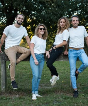 T-shirt Fibre Bio, coton bio certifié GOTS
