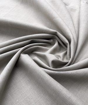 Khadi 100% coton teint en végétal Burnt Grey