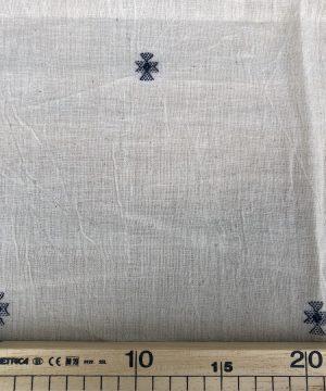 Coton Kala motifs tissés