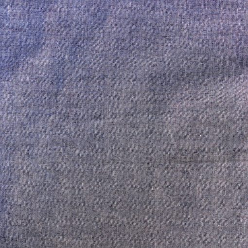 Coton tissé teint bleu / violet