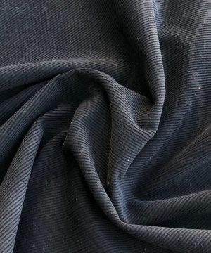 Velours côtelé teint en végétal Chebula Black