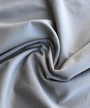 Velours côtelé teint en végétal Burnt Grey
