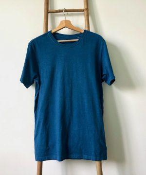 L'uni - Tshirt coton bio teinture végétale made in France