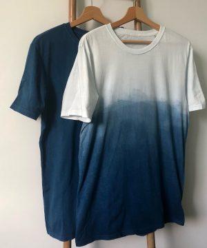 Les inséparables - T-shirts 100% coton bio teinture végétale made in France