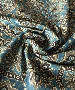 Batiste et ajrakh print joyaux d'Inde